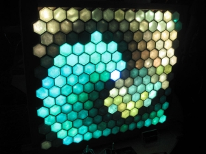 hex led wall