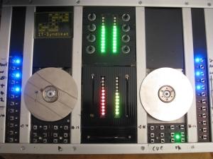 Hard-DJ mit VU