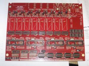 MB-6582 Platine teilweise bestückt