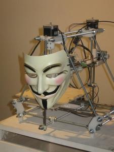 Anonymous 3D Printer