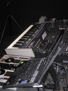 Audio Equipment on Stage