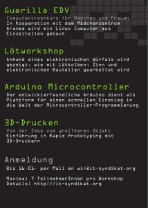 Temporary Space Invasion - das IT-Syndikat zu Gast im Freien Theater Innsbruck