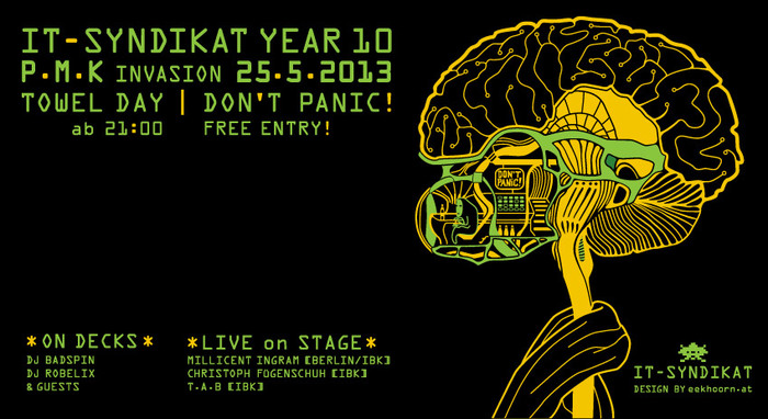 IT-Syndikat Year 10 Party - Towelday 25.5.2013 - PMK